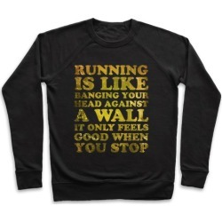Running Is Pullover from LookHUMAN