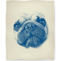 Pug Face Blanket from LookHUMAN found on Bargain Bro Philippines from LookHUMAN for $59.99