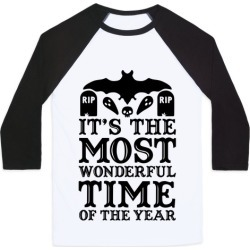 It's the Most Wonderful Time Of The Year Baseball Tee from LookHUMAN