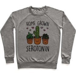 Home Grown Serotonin Pullover from LookHUMAN