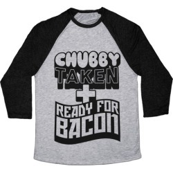 Ready for Bacon Baseball Tee from LookHUMAN