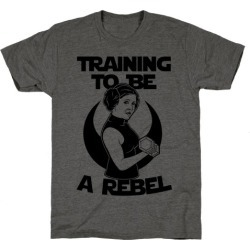 Training To Be A Rebel T-Shirt from LookHUMAN found on Bargain Bro Philippines from LookHUMAN for $25.99