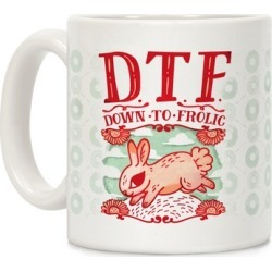 DTF Down to Frolic Mug from LookHUMAN