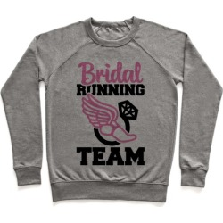 Bridal Running Team Pullover from LookHUMAN