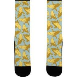 Banana Pattern Socks from LookHUMAN
