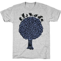 Birds on a Tree T-Shirt from LookHUMAN