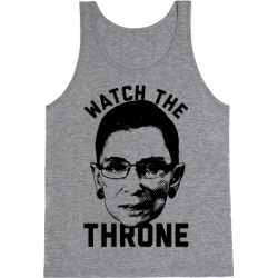 Watch The Throne RGB Tank Top from LookHUMAN