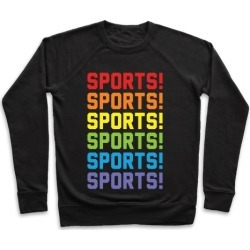 Sports Sports Sports Pullover from LookHUMAN