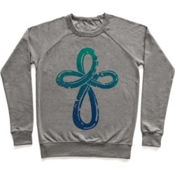Infinity Cross Pullover from LookHUMAN found on Bargain Bro India from LookHUMAN for $34.99