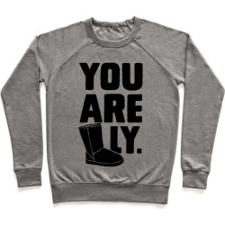 You are UGGly Pullover from LookHUMAN