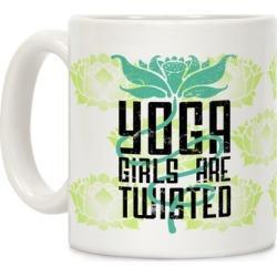 Yoga Girls Are Twisted Mug from LookHUMAN