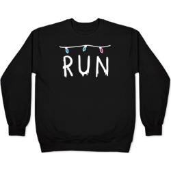 Run Stranger Things Pullover from LookHUMAN