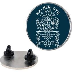 Na-Mer-Ste Mermaid Yoga Pin from LookHUMAN