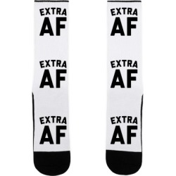 Extra Af Socks from LookHUMAN