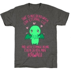 Kawaii Cthulhu T-Shirt from LookHUMAN