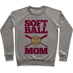 Softball Mom Pullover from LookHUMAN
