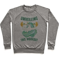 Unikilling This Workout Pullover from LookHUMAN