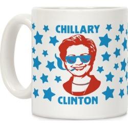 Chillary Clinton Mug from LookHUMAN