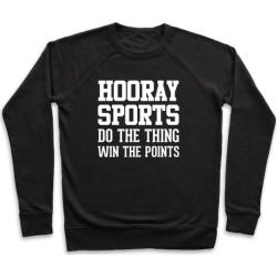 Hooray Sports Pullover from LookHUMAN