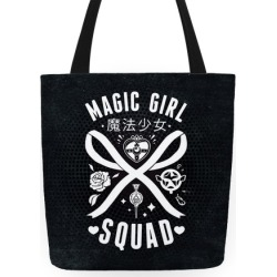Magic Girl Squad Tote Tote Bag from LookHUMAN found on Bargain Bro India from LookHUMAN for $27.99
