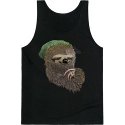 Dank Sloth Tank Top from LookHUMAN found on Bargain Bro Philippines from LookHUMAN for $25.99
