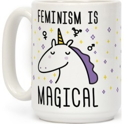 Feminism Is Magical Mug from LookHUMAN