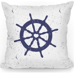 Love Helm Throw Pillow from LookHUMAN found on Bargain Bro Philippines from LookHUMAN for $26.99