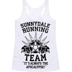 Sunnydale Running Team Racerback Tank from LookHUMAN found on Bargain Bro Philippines from LookHUMAN for $25.99