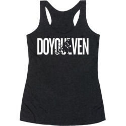 Do You Even - Body Builder Racerback Tank from LookHUMAN