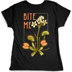 Bite Me Venus Flytrap T-Shirt from LookHUMAN found on MODAPINS from LookHUMAN for USD $21.99