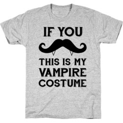 This Is My Vampire Costume T-Shirt from LookHUMAN found on Bargain Bro Philippines from LookHUMAN for $21.99