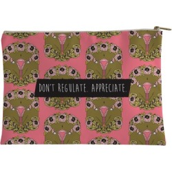 Don't Regulate Appreciate Accessory Bag from LookHUMAN found on Bargain Bro Philippines from LookHUMAN for $17.99