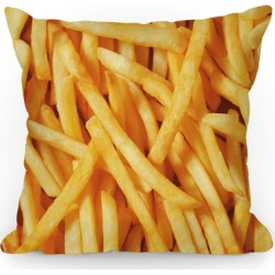 French Fries Throw Pillow from LookHUMAN found on Bargain Bro Philippines from LookHUMAN for $29.99