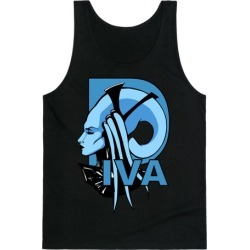 Diva Tank Top from LookHUMAN