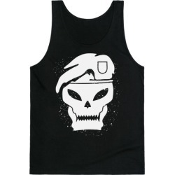 SKULL (CALL OF DUTY) Tank Top from LookHUMAN