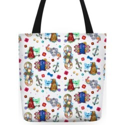 Doctor Who Tote Tote Bag from LookHUMAN