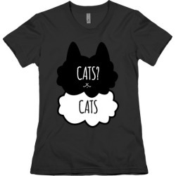 Cats? Cats T-Shirt from LookHUMAN