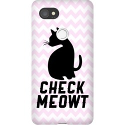 Check Meowt Phone Case from LookHUMAN