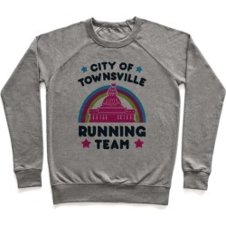 City Of Townsville Running Team Pullover from LookHUMAN