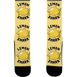 Lemon Shark Socks from LookHUMAN