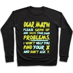 Dear Math Pullover from LookHUMAN