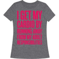 Running Away From My Adult Responsibilities T-Shirt from LookHUMAN found on Bargain Bro India from LookHUMAN for $25.99