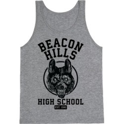 Beacon Hills High School Tank Top from LookHUMAN