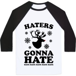 Haters Gonna Hate Baseball Tee from LookHUMAN