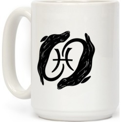 Otterly Emotional Pisces Mug from LookHUMAN