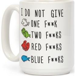Red F**ks Blue F**ks Parody Censored Mug from LookHUMAN