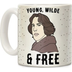 Young, Wilde and Free Mug from LookHUMAN