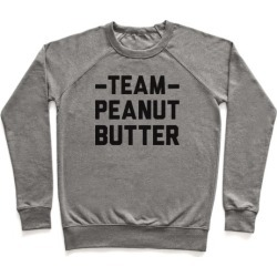 Team Peanut Butter Pullover from LookHUMAN