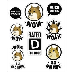 Doge Meme Stickers from LookHUMAN
