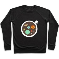 Coffee & Space Planets Pullover from LookHUMAN found on Bargain Bro Philippines from LookHUMAN for $34.99